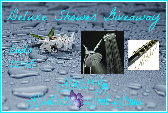 Deluxe Shower #Giveaway Ends 12/15