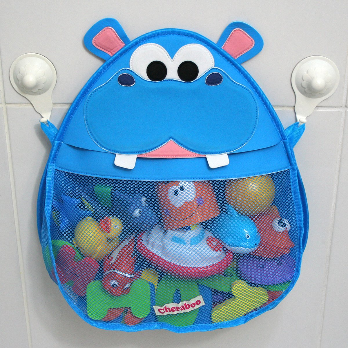 Hurley Hippo Bath Toy Organizer By Cheraboo | Heartbeats~ Soul Stains